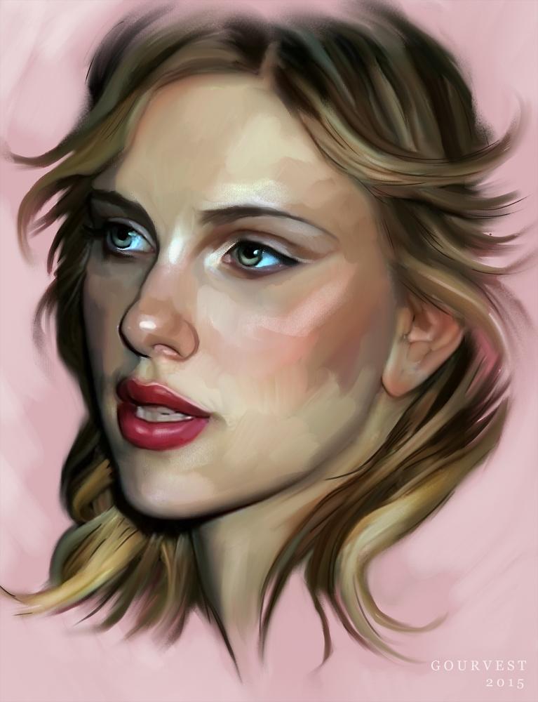 Scarlett Johansson by polyarny